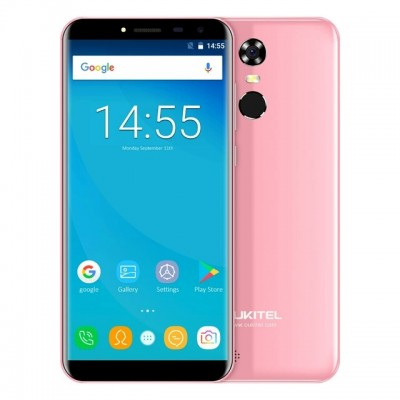 "Oukitel C8 5.5"" 18:9 Infinity Display Android 7.0 MTK6580A Quad Core Smartphone 2G RAM 16G ROM 3000mAh Fingerprint Mobile Phone"