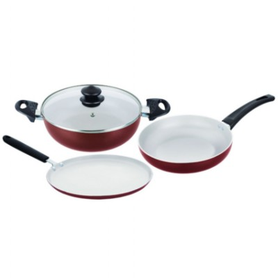 Majesty duo non stick cookware set 3 piesce read