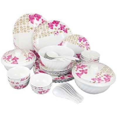 Malament  Dinner set Lazer Etching 32 pcs Dinner Set