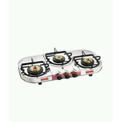 3 Burner Still Gas Stove
