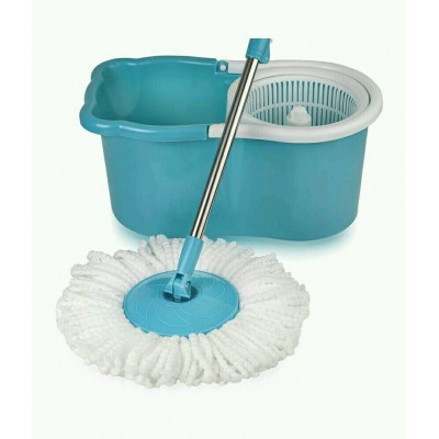 Mop with Microfiber Heads