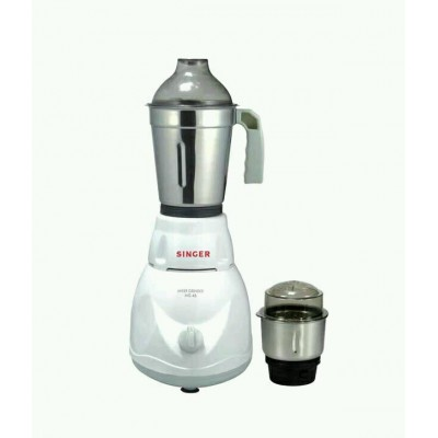 Singer 500 W Mixer Grinder With Special Vacuum Anti Slip Feet