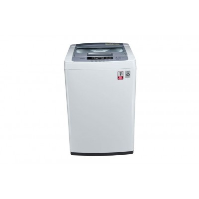 LG 6.5 kg Fully-Automatic Top Loading Washing Machine (T7569NDDL, Blue and White)