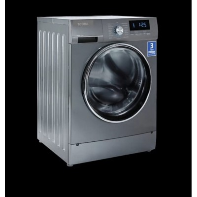TOSIBA 7.5 kg Front load washing machine In-built Heater, Turbo Wash