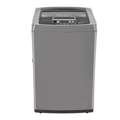 LG T7567TEELH/T7567TEDLH Fully-automatic Washing Machine (6.5 Kg, Middle Free Silver)
