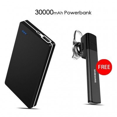 Samsung 30000mAh Pawar bank get Bluetooth headset FREE