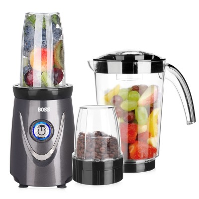 Boss Nutri Plus Blender 550 Watt - 3 Jars (B615)