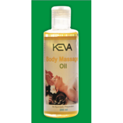 Keva body massage oil